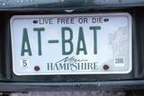 Vanity License Plate - New Hampshire Photographic Print