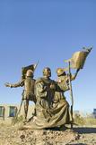 Sculpture Garden at Albuquerque Museum of Art and History, New Mexico Shows Coronado Photographic Print
