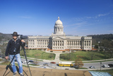 State Capitol of Kentucky, Frankfort Photographic Print
