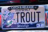 Vanity License Plate - Idaho Fotodruck