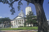 State Capitol of Florida, Tallahassee Photographic Print
