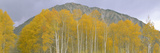 Autumn Clouds at Kebler Pass, Gunnison National Forest, Colorado Photographic Print