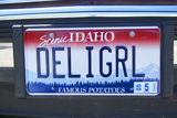 Vanity License Plate - Idaho Photographic Print