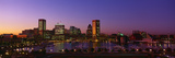 Inner Harbor, Baltimore, Sunset, Maryland Photographic Print