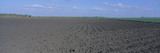 Tilled Farm Field, Texas Photographic Print