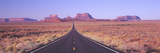 Monument Valley, Route 163 at Dawn, Utah Photographic Print