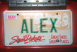 Vanity License Plate - South Dakota Photographic Print