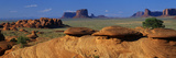 Swirling Sandstone Formations, Monument Valley, Arizona Photographic Print