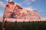 Welcome to Oklahoma Sign Photographic Print