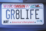 Vanity License Plate - Wisconsin Photographic Print