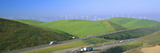Wind Energy Windmills Along Route 580, Altamont, California Photographic Print