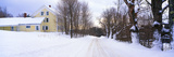 Farm Covered in Snow, Darling Hill Road, Lyndonville, Vermont Photographic Print
