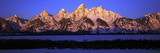 Sunrise on Grand Tetons, Grand Teton National Park, Wyoming Photographic Print