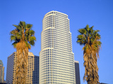 Los Angeles Skyline - 777 Tower, California Photographic Print