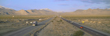 Interstate 15, Near Las Vegas, after Winter Storm, Nevada Photographic Print