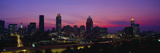 Atlanta Skyline, I-20, Georgia Photographic Print