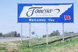 Welcome to Tennessee Sign Photographic Print