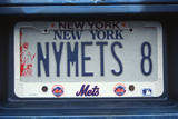 Vanity License Plate - New York Photographic Print