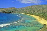 Hanauma Bay, Honolulu, Hawaii Photographic Print