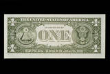 This Is the Back Side of the One Dollar Bill Photographic Print