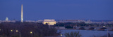 View of Washington DC at Dusk, Washington DC Photographic Print
