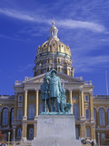 State Capitol of Iowa, Des Moines Photographic Print