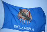 State Flag of Oklahoma Photographic Print