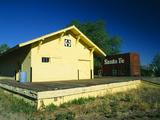 Train Station, Magdalena, New Mexico Photographic Print