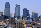 Kansas City Skyline from Crown Center, MO Photographic Print