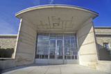 Entrance of the Des Moines Art Center, Des Moines, Iowa Photographic Print