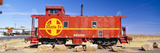 Red Santa Fe Caboose, Arizona Photographic Print