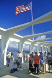USS Arizona Museum at Pearl Harbor, Oahu, Hawaii Photographic Print