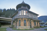 Northern Pacific Depot Railroad Museum, Wallace Rr Station, Idaho Photographic Print