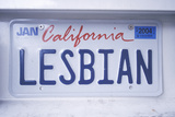 Vanity License Plate - California Photographic Print