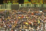 Trading Floor of the Chicago Board of Trade, Chicago, Illinois - Fotografik Baskı