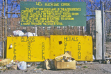 Recycling Center Administered by the 4C's in Detroit, Michigan Photographic Print