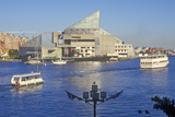National Aquarium and Inner Harbor, Baltimore, Maryland Photographic Print