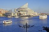 National Aquarium and Inner Harbor, Baltimore, Maryland Photographic Print