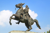 Andrew Jackson Statue in Jackson Square in New Orleans, Louisiana Photographic Print