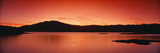 Sunset at Ashokan Reservoir, Catskill Forest Preserve Near Woodstock, New York Photographic Print