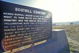Boot Hill Cemetery, Billings, Mt Photographic Print