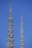 Watts Towers 20th Anniversary of the 1965 Riots, Los Angeles, California Photographic Print