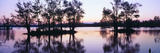 Sunset over Wildlife Refuge of Lake Fausse Pointe State Park, Louisiana Photographic Print