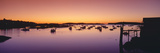 Lobster Village at Sunrise, Stonington, Maine Photographic Print