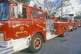 Hook and Ladder Fire Truck, Dover, Delaware Photographic Print