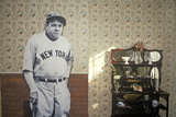 Room Inside Babe Ruth's Birthplace and the Baltimore Orioles Museum, Baltimore, Maryland Photographic Print