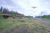 Alaskan Lodge in St. Elias National Park, Wrangell, Alaska Photographic Print