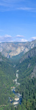 Yosemite Valley and Bridal Veil Falls, Yosemite, California Photographic Print