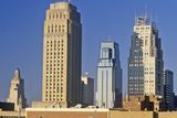 Kansas City Skyline at Sunrise, MO Photographic Print