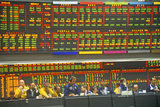 Trading Floor of the Chicago Mercantile Exchange, Chicago, Illinois Photographic Print